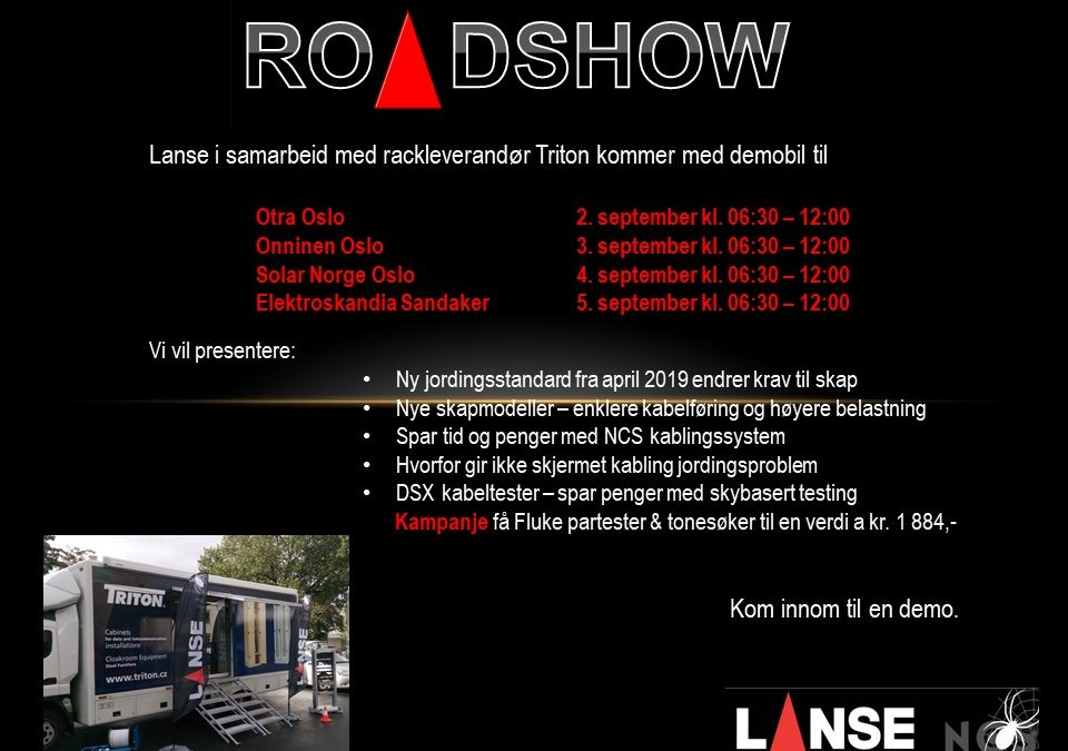 Lanse Roadshow 2019